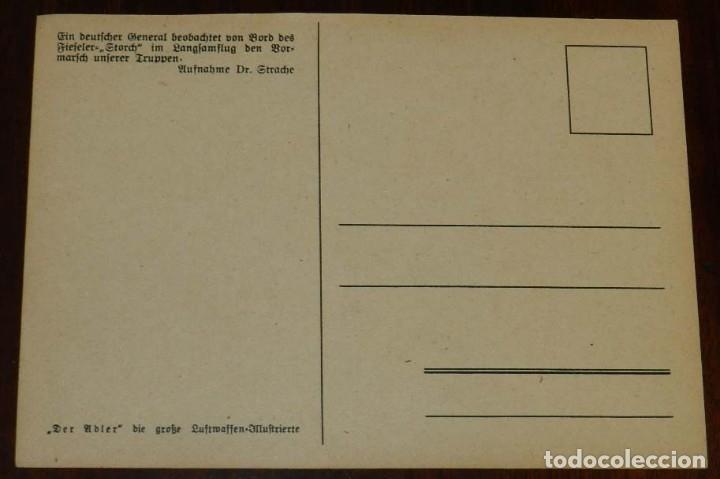 Postales: 2ª SEGUNDA GUERRA MUNDIAL, EJERCITO ALEMAN. WEHRMACHT. DER ADLER, POSTAL FOTOGRAFICA, SIN CIRCULAR - Foto 2 - 177248760