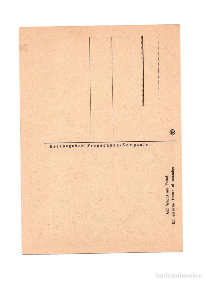 Postales: DIVISIÓN AZUL. EN ESCUCHA FRENTE ENEMIGO. - Foto 2 - 178386988