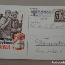 Postales: ALEMANIA. II GUERRA MUNDIAL. BONITA POSTAL MILITAR. Lote 179237105