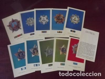 Postales: LOTE POSTALES URSS, ORDENES CCCP 15 UD. 1974 - Foto 2 - 180424453