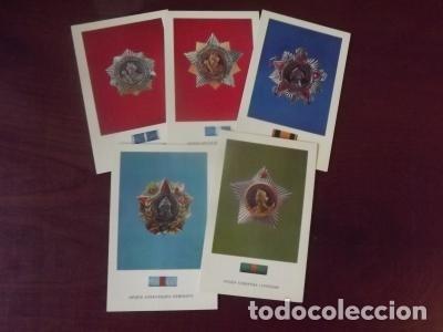 Postales: LOTE POSTALES URSS, ORDENES CCCP 15 UD. 1974 - Foto 3 - 180424453