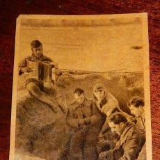 Postales: POSTAL DE LA DIVISION AZUL, ESCRITA EN CAMPAÑA POR UN OFICIAL ESPAÑOL EN 1943, DIRIGIDA A SU HIJA EN. Lote 182390151