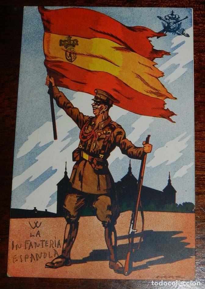 POSTAL DE LOS SALVADORES DE ESPAÑA, UN RECUERDO DEL INMORTAL ALCAZAR DE TOLEDO, GUERRA CIVIL, SERIE (Postales - Postales Temáticas - II Guerra Mundial y División Azul)