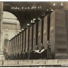 Postales: ALEMANIA TERCER REICH / NAZI – MUNICH, 1935 – ACTO HOMENAJE (LEER DESCRIPCIÓN) POSTAL FOTOGRÁFICA. Lote 182636907