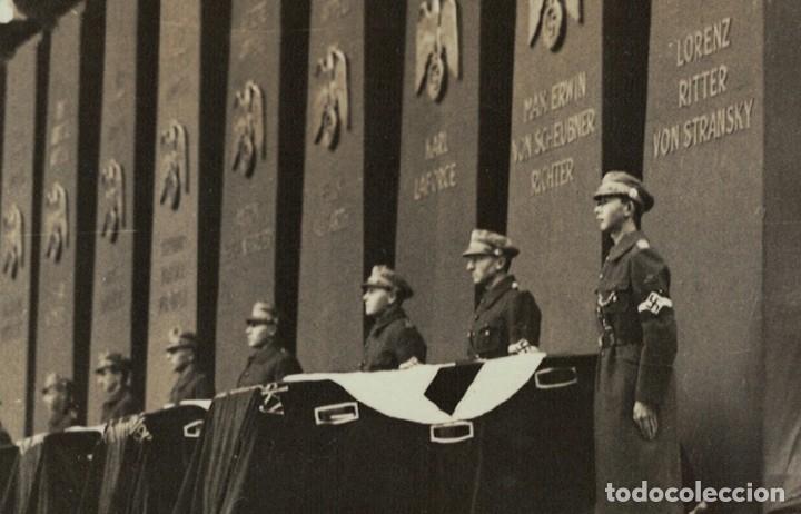 Postales: Alemania Tercer Reich / Nazi – Munich, 1935 – Acto homenaje (leer descripción) Postal fotográfica - Foto 3 - 182636907