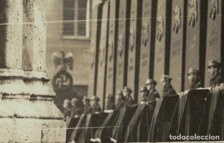Postales: Alemania Tercer Reich / Nazi – Munich, 1935 – Acto homenaje (leer descripción) Postal fotográfica - Foto 4 - 182636907