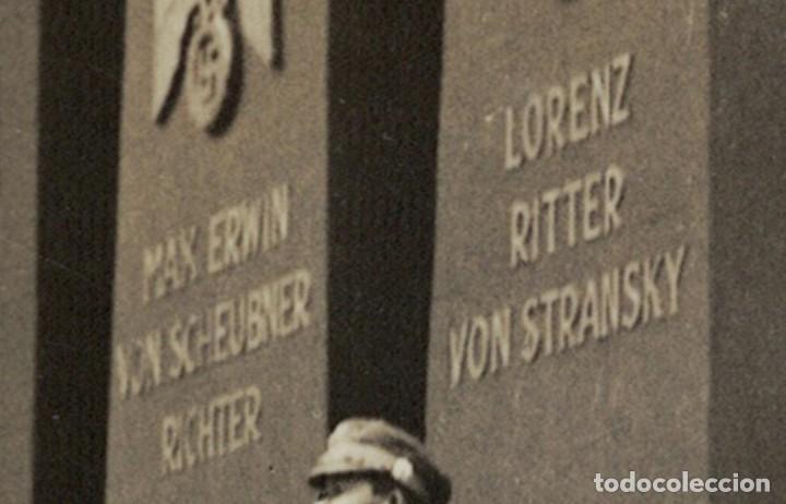 Postales: Alemania Tercer Reich / Nazi – Munich, 1935 – Acto homenaje (leer descripción) Postal fotográfica - Foto 6 - 182636907