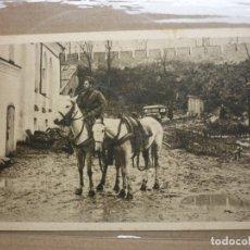 Postales: ANTIGUA POSTAL II GUERRA MUNDIAL - EN LA ZONA DE COMBATE Y LUGARES HISTORICOS ,. Lote 182648253