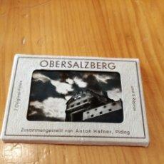 Postales: CARPETA CON 12 MINI POSTALES DE OBERSALZBERG DE HITLER. Lote 182760543