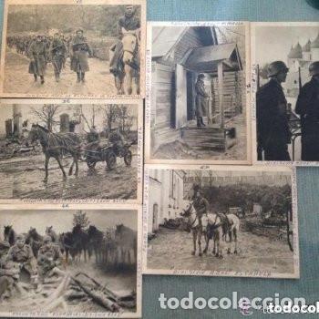 LOTE ANTIGUAS POSTALES DIVISIÓN AZUL ESPAÑOLA - SEGUNDA GUERRA MUNDIAL (Postales - Postales Temáticas - II Guerra Mundial y División Azul)