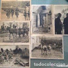 Postales: LOTE ANTIGUAS POSTALES DIVISIÓN AZUL ESPAÑOLA - SEGUNDA GUERRA MUNDIAL . Lote 182974587