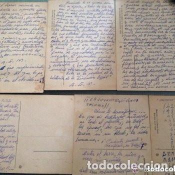 Postales: LOTE ANTIGUAS POSTALES DIVISIÓN AZUL ESPAÑOLA - SEGUNDA GUERRA MUNDIAL - Foto 2 - 182974587