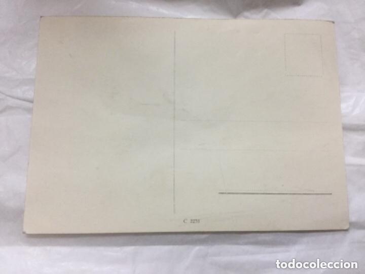 Postales: POSTAL HITLER RECONOCIENDO A LA DIVISION AZUL SU LABOR - CON SU FIRMA IMPRESA - C 2235 -SIN CIRCULAR - Foto 2 - 183419345
