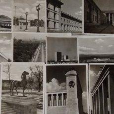 Postales: 12 POSTALES ARQUITECTURA DE ALEMANIA DEL III REICH .- VARIOS ARQUITECTOS COMO FOTOGRAFOS / SIN CIRCU. Lote 184117477