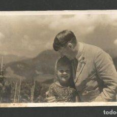 Postales: HITLER-DER FÜHRER MIT DER JUGEND-NAZISMO-POSTAL FOTOGRAFICA ANTIGUA-VER REVERSO-(64.951). Lote 184564265