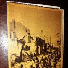 Postales: Nº 34122 POSTAL LA CRUZADA EUROPEA CONTRA EL BOLCHEVISMO LA DIVISION AZUL MARCHA A TRAVES DE UNA CIU. Lote 188719071