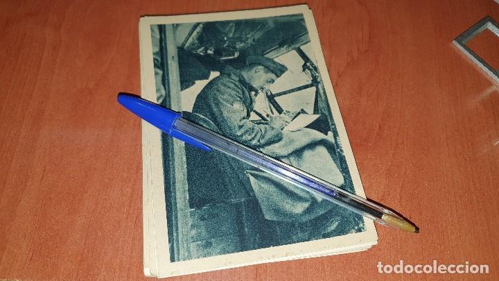 DIVISIONARIO ESCRIBIENDO A LA FAMILIA, POSTAL SIN CIRCULAR, 15 X 10,5 CM. (Postales - Postales Temáticas - II Guerra Mundial y División Azul)