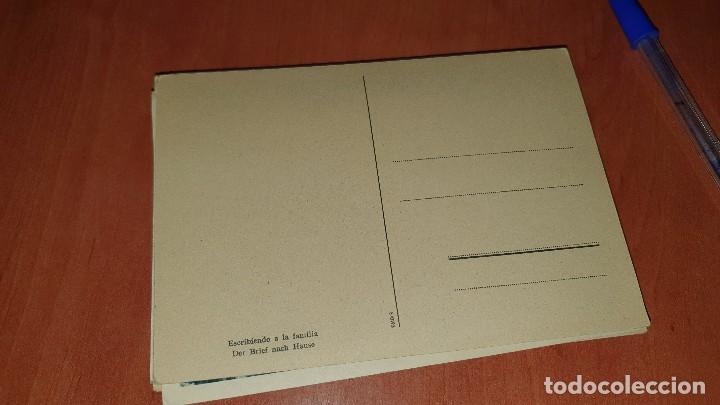 Postales: Divisionario escribiendo a la familia, postal sin circular, 15 x 10,5 cm. - Foto 2 - 194126088