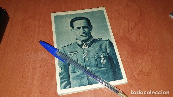 DIVISION AZUL, GENERAL MUÑOZ GRANDES, POSTAL SIN CIRCULAR, 15 X 10,5 CM. (Postales - Postales Temáticas - II Guerra Mundial y División Azul)