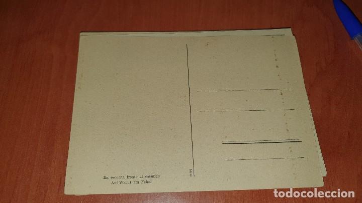 Postales: Division azul, en escucha frente al enemigo, postal sin circular, 15 x 10,5 cm. - Foto 2 - 194130138