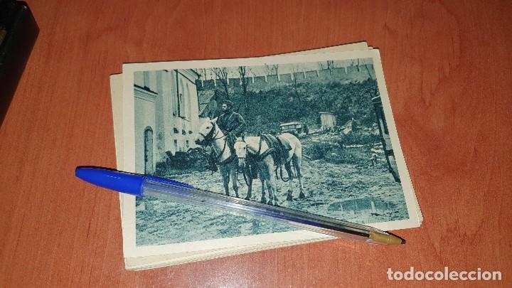 DIVISION AZUL, EN LA ZONA DE COMBATE, POSTAL SIN CIRCULAR, 15 X 10,5 CM. (Postales - Postales Temáticas - II Guerra Mundial y División Azul)