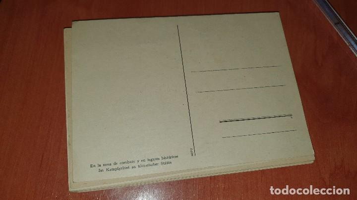 Postales: Division azul, en la zona de combate, postal sin circular, 15 x 10,5 cm. - Foto 2 - 194130253