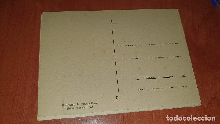 Postales: Division azul, municion a la primera linea, postal sin circular, 15 x 10,5 cm. - Foto 2 - 194130426