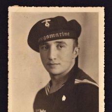 Postales: POSTAL 2ª GUERRA MUNDIAL MARINA ALEMANA . Lote 194377865