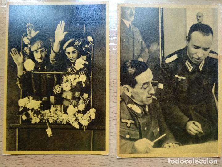 Postales: CUADROS DE LA DIVISION AZUL. LUCHAS DE LOS PUEBLOS EUROPEOS POR UNA NUEVA EUROPA 12 COMPLETA - Foto 3 - 194886868