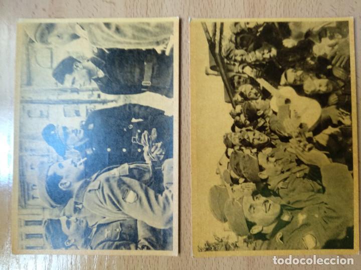 Postales: CUADROS DE LA DIVISION AZUL. LUCHAS DE LOS PUEBLOS EUROPEOS POR UNA NUEVA EUROPA 12 COMPLETA - Foto 7 - 194886868