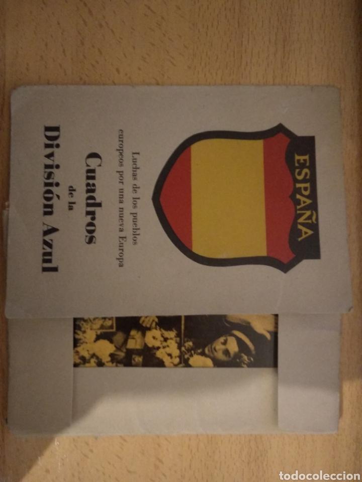 Postales: CUADROS DE LA DIVISION AZUL. LUCHAS DE LOS PUEBLOS EUROPEOS POR UNA NUEVA EUROPA 12 COMPLETA - Foto 9 - 194886868