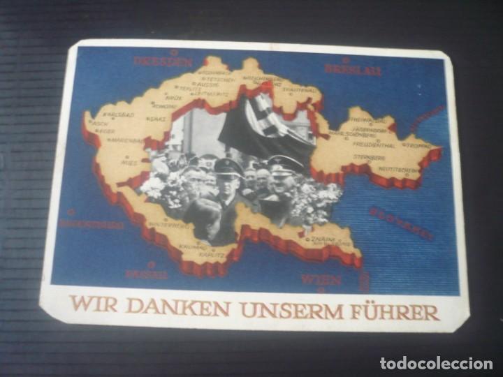 WIR DANKEN UNSERM FÜHRER (Postales - Postales Temáticas - II Guerra Mundial y División Azul)