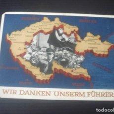Postales: WIR DANKEN UNSERM FÜHRER. Lote 195068655