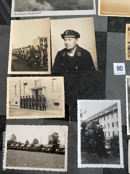 Postales: lote de 13 postales y fotografías militares , alemania segunda guerra mundial - Foto 2 - 195144741