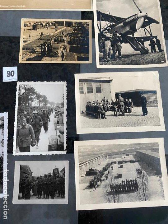 Postales: lote de 13 postales y fotografías militares , alemania segunda guerra mundial - Foto 3 - 195144741