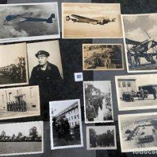 Postales: LOTE DE 13 POSTALES Y FOTOGRAFÍAS MILITARES , ALEMANIA SEGUNDA GUERRA MUNDIAL . Lote 195144741