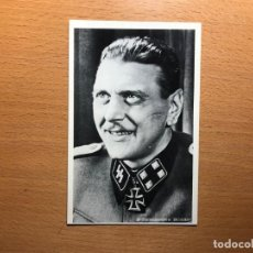 Postales: OTTO SKORZENY. STURMBANNFHÜRER DE LAS SS. LIBERADOR DE MUSSOLINI. POSTAL ALEMANA.. Lote 195584493
