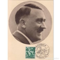 Cartes Postales: POSTAL PROPAGANDA ADOLF HITLER. III REICH. NAZI.. Lote 196661540