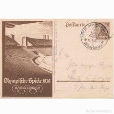 Cartes Postales: POSTAL DE LAS OLIMPIADAS DE 1936 CELEBRADAS EN BERLIN. NAZI. III REICH.. Lote 197070683