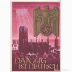 Postales: POSTAL PROPAGANDA. DANZIG IST DEUTSCH. NAZI. III REICH.. Lote 197221863