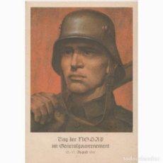 Postales: DIA DEL PARTIDO NAZI EN EL GOBIERNO GENERAL DE LOS TERRITORIOS POLACOS OCUPADOS.NAZI.III REICH. Lote 197233550