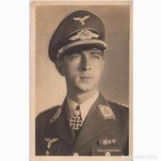 Postales: POSTAL DEL AS DE LA LUFTWAFFE WERNER MÖLDERS. NAZI. III REICH.. Lote 197235515