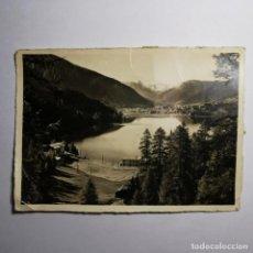Postales: ANTIGUA POSTAL - FOTO CON TAMPON NAZI - AÑO 1943 - GUERRA MUNDIAL - DAVOSERSEE GEGEN DAVOS - 19. Lote 200009657