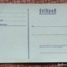 Cartes Postales: ANTIGUA POSTAL ALEMANA - FELDPOST. Lote 201823142