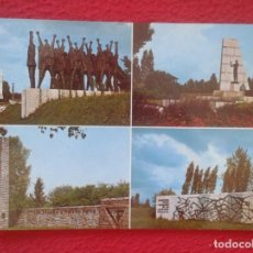 Postales: POST CARD MAUTHAUSEN CAMPO DE CONCENTRACIÓN CONCENTRATION KAMP MONUMENTO A HUNGRÍA FRANCE YUGOSLAVIA. Lote 203275120