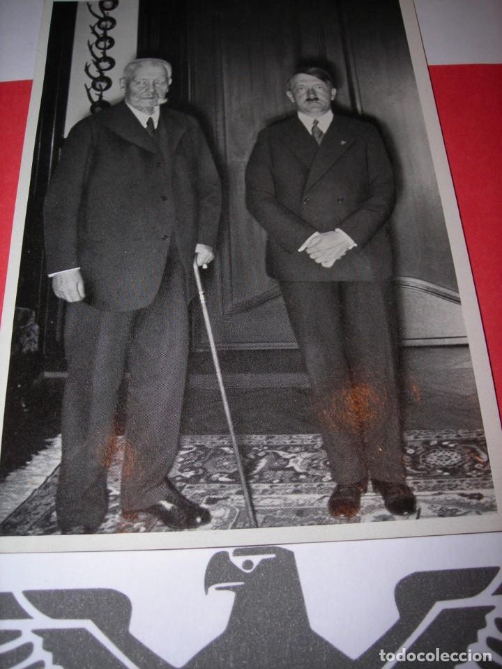 POSTALILLA DEL TERCER REICH (12 CMS X 8 CMS). (Postales - Postales Temáticas - II Guerra Mundial y División Azul)
