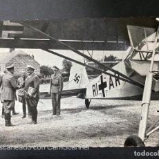 Postales: TARJETA POSTAL. MAI 1940. HITLER CON VON SCHIRACH Y BORMANN. PISTE D'ATTERRISSAGE DE BRULY-DE-PESCHE. Lote 205250611