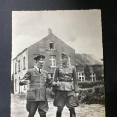 Postales: TARJETA POSTAL. MAI 1940. HITLER Y VON BRAUTCHITSCH. MAISON COMMUNALE DE BRULY-DE-PESCHE. Lote 205250867
