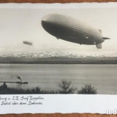 Postales: LZ 129 HINDENBURG ZEPPELIN - DIRIGIBLE ALEMAN NAZI - 1936-1937 - FECHADA 1938. Lote 205778480