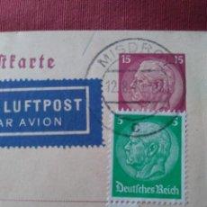 Postales: POSTAL ENVIADA DESDE ALEMANIA A ESPAÑA. CORREO ALEMÁN 1940. MILITAR.. Lote 205806518